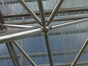 space frame, truss, canopy, polycarbonate, skylight, struktur