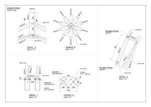 kubah masjid, detail, cremona detail, las, kubah, struktur