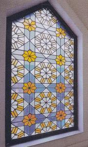 harga, kaca, grafir, inley, patri, dinding, kubah,masjid